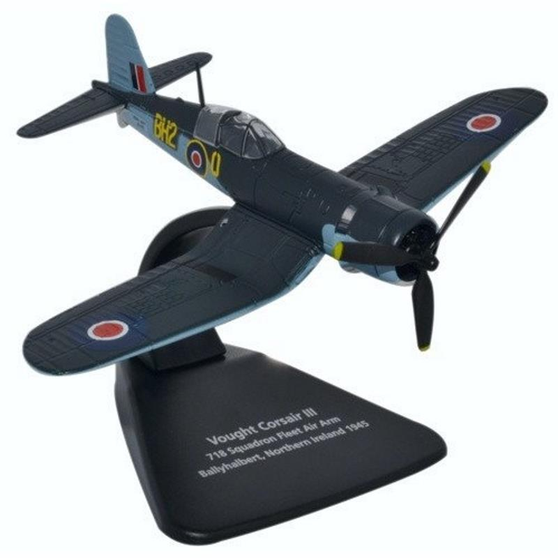 Product Photo of 25420 - Vought Corsair III 718 Squadron, Royal Navy Fleet Air Arm Diecast Model