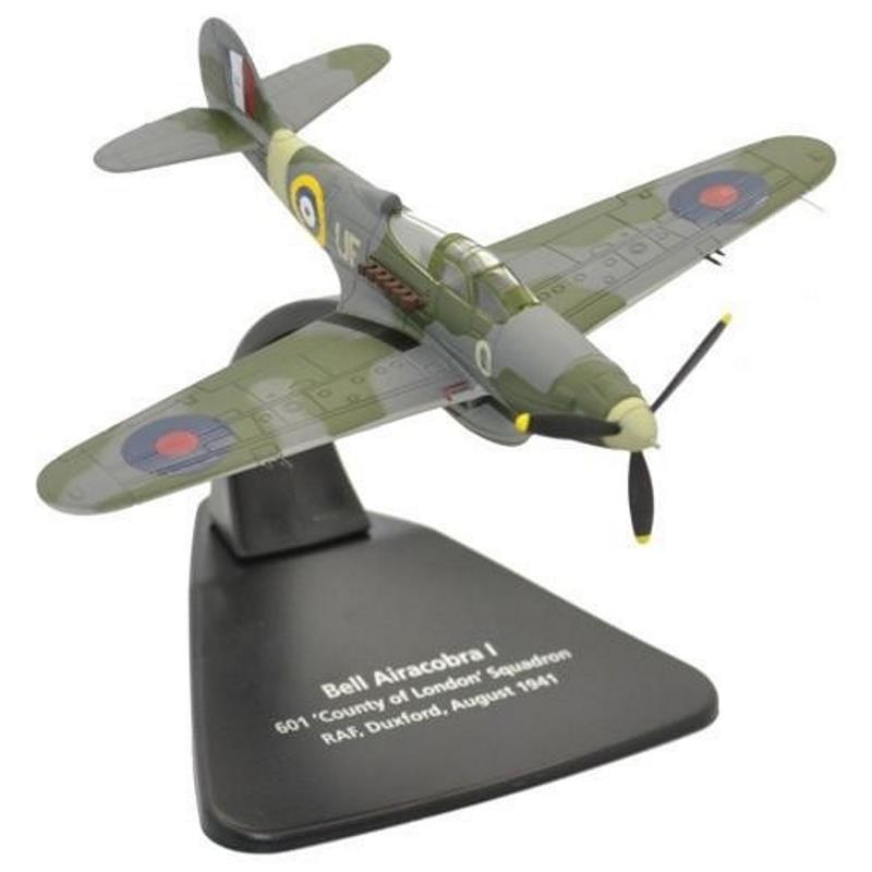 "Product Photo of 25421 - Bell Airacobra No. 601 ""County of London"" Squadron Diecast Model"
