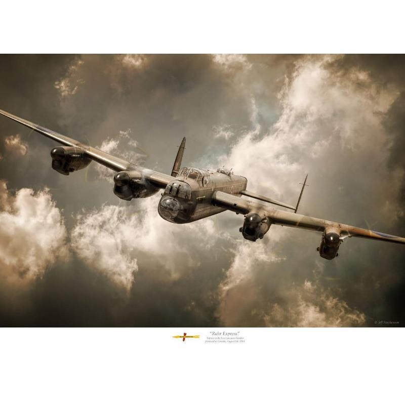 Product Photo of 25587 - Avro Lancaster 'Ruhr Express', Print