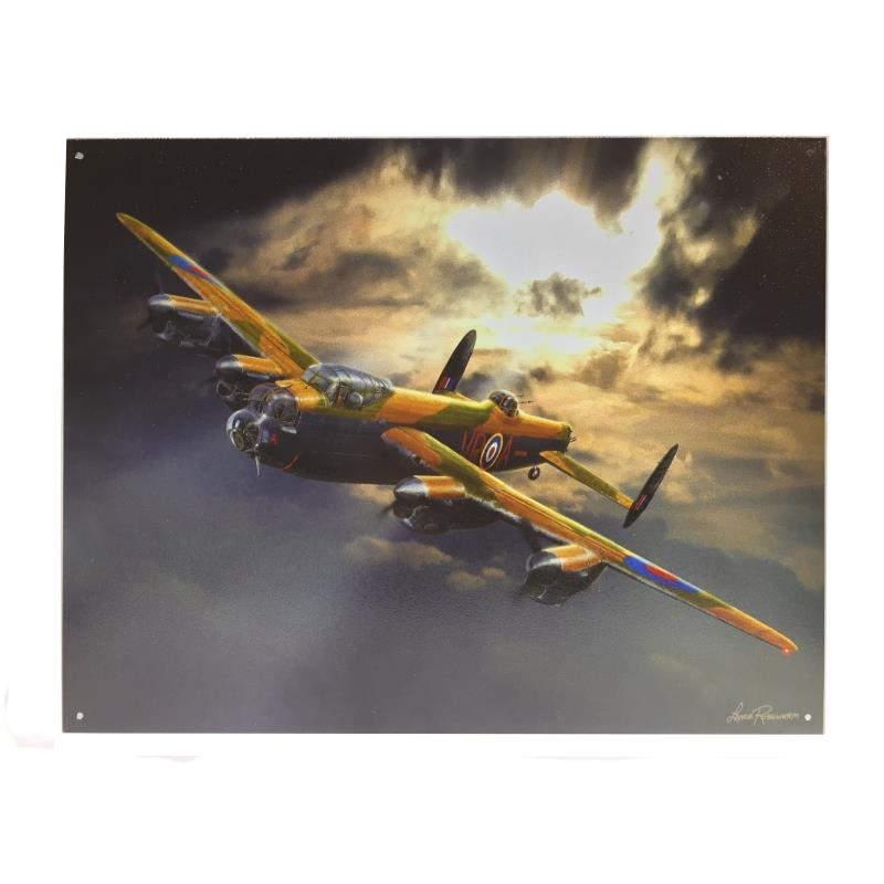 Product Photo of 26276 - Avro Lancaster Tin Sign