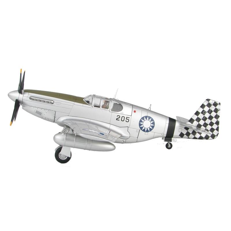 Product Photo of 26503 - P-51C Mustang 205, No.25 Squadron, Chinese Air Force Diecast Model