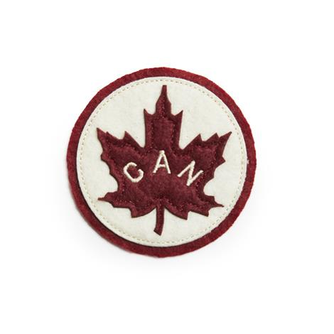 Product Photo of 26539 - Canada Leaf Woven Crest