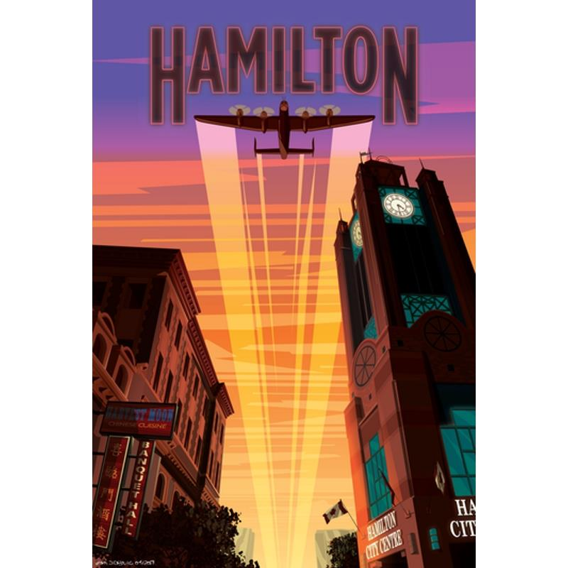 Product Photo of 26546 - Hamilton Poster