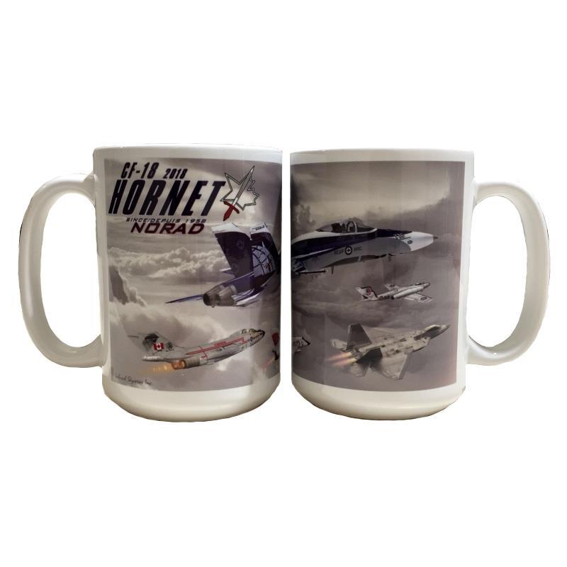 Product Photo of 27002 - CF-18 Hornet NORAD Anniversary Mug