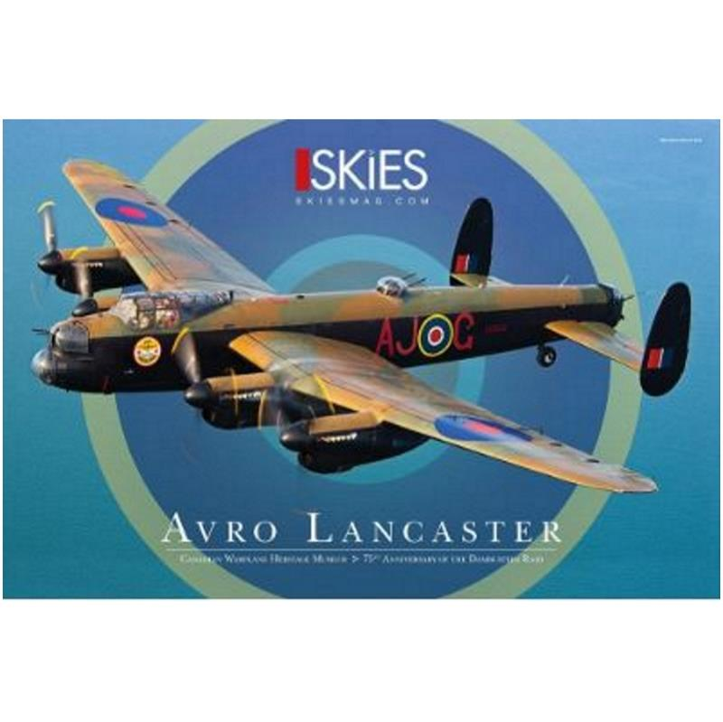 Product Photo of 27035 - Canadian Warplane Heritage Avro Lancaster AJ-G Poster