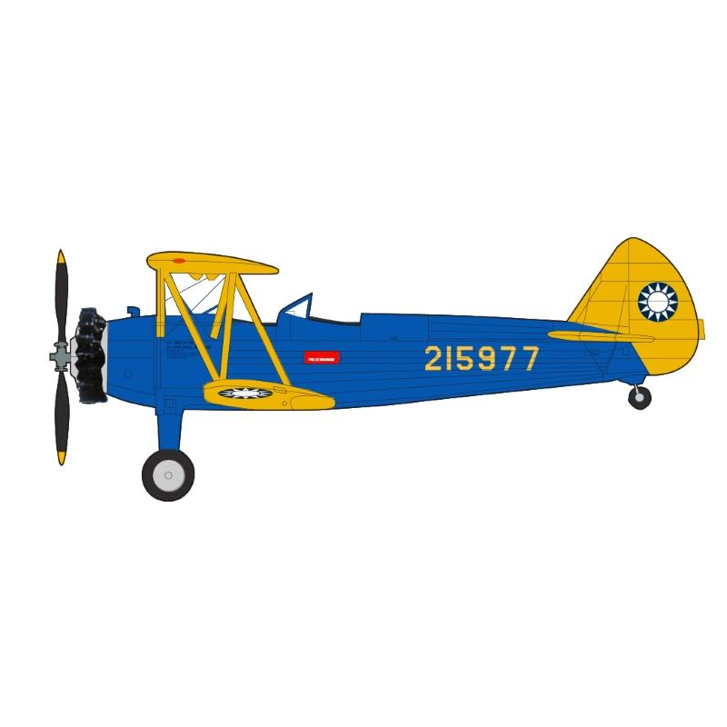 Product Photo of 27010 - Boeing PT-17 Stearman 215977, Chinese Air Force, 1942 Diecast Model