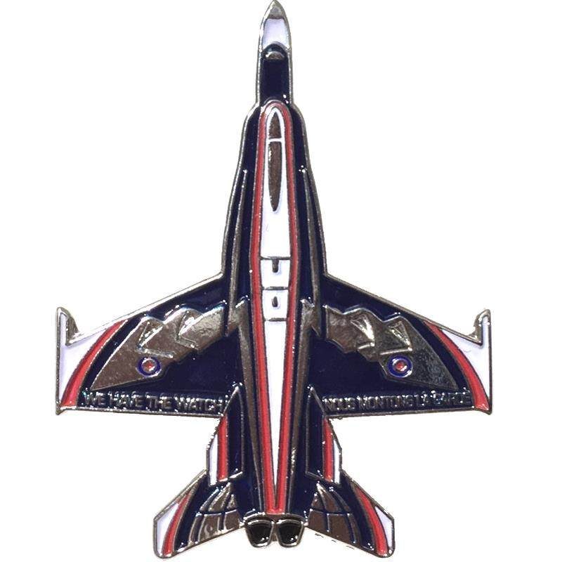Product Photo of 27314 - CF-18 Hornet NORAD Anniversary Lapel Pin