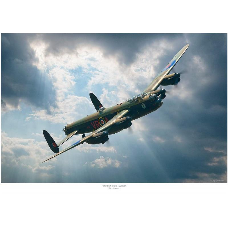 Product Photo of 27349 - Avro Lancaster 'Thunder in the Heavens' Print