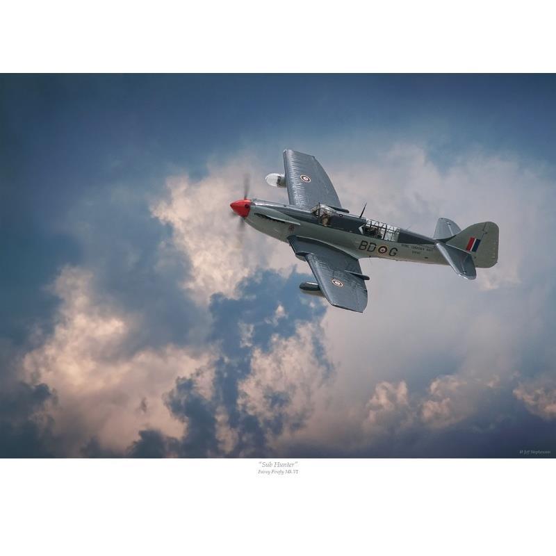 Product Photo of 27350 - Fairey Firefly 'Sub Hunter' Print