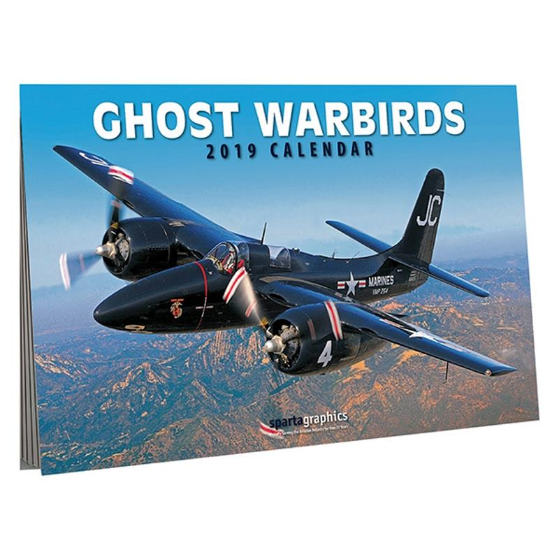 Product Photo of 27441 - Ghost Warbirds 2019 Calendar