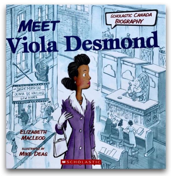 Product Photo of 27930 - Meet Viola Desmond Book