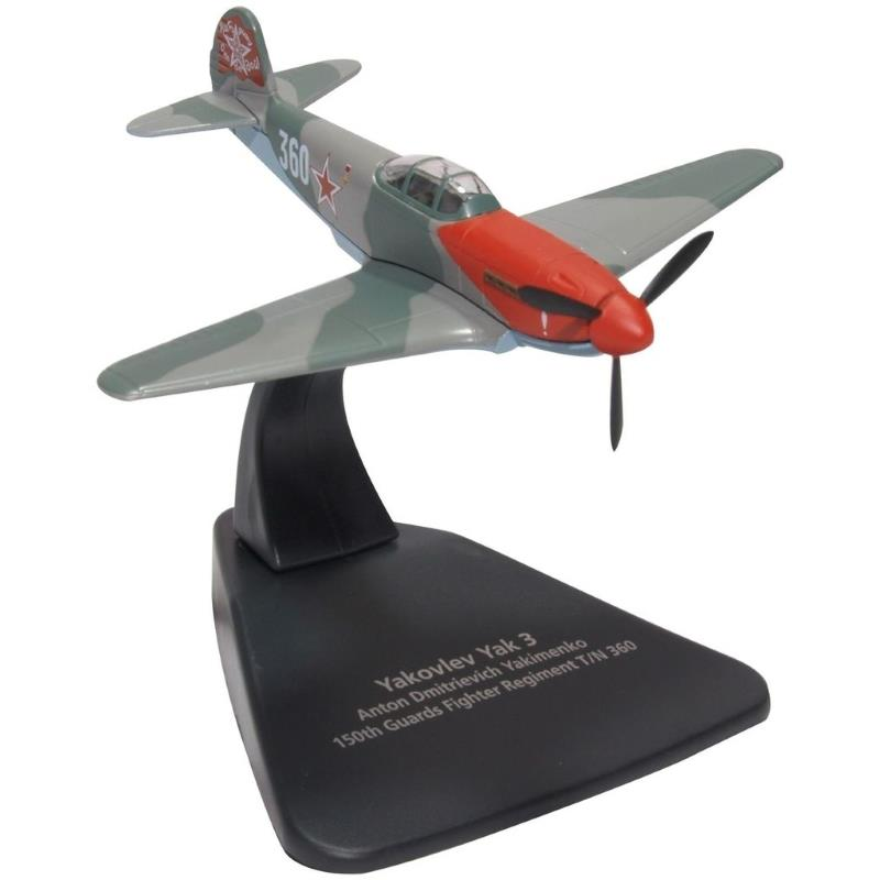 Product Photo of 27970 - Yakolev Soviet Air Force, 'Yak 3', Diecast Model