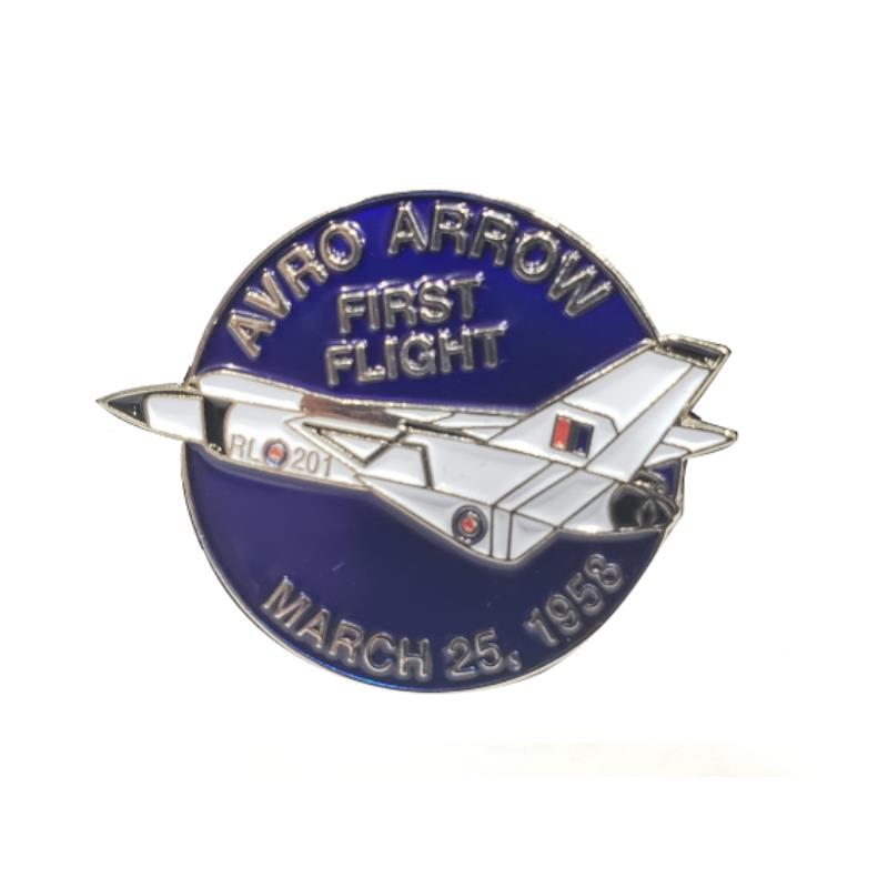 Product Photo of 28763 - Avro Arrow First Flight Pin