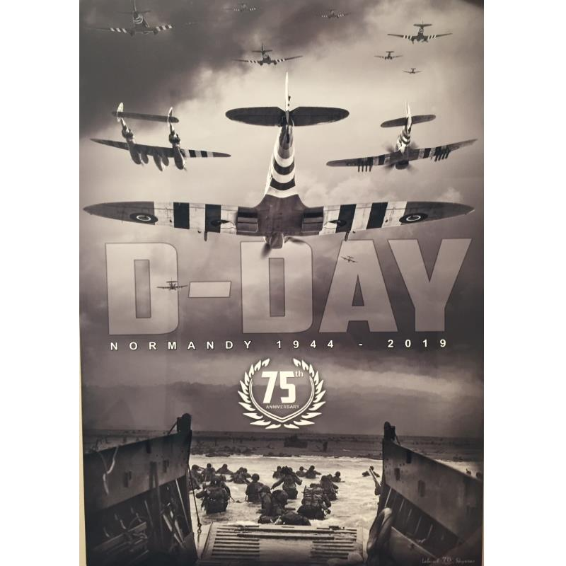 D-DAY 75TH Anniversary Metal Sign | Canadian Warplane ...
