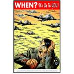 Photo of 28416 - When? It's Up To You! RCAF Poster