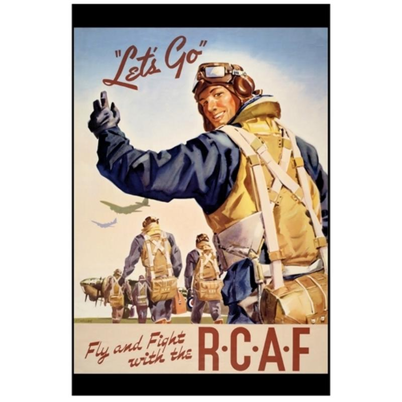 Product Photo of 28421 - Let's Go! RCAF Poster