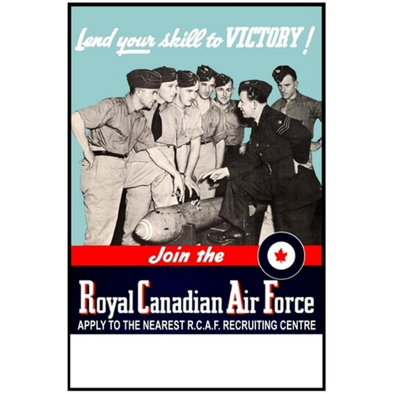Product Photo of 28422 - Lend Your Skills To Victory! RCAF Poster