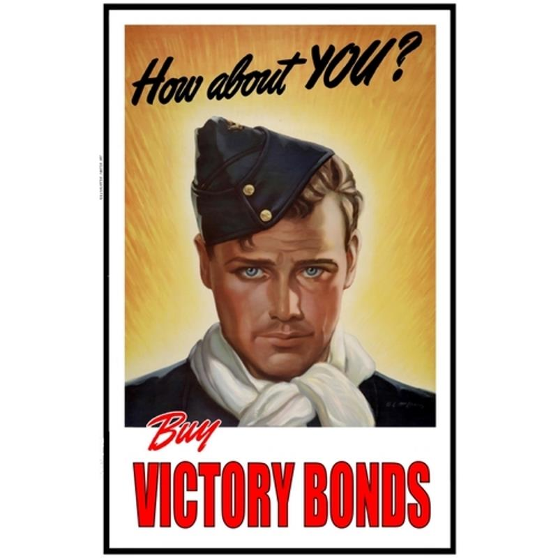 Product Photo of 28424 - Buy Victory Bonds RCAF Poster