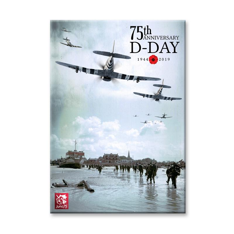 Product Photo of 28437 - 75th D-Day Anniversary Canvas
