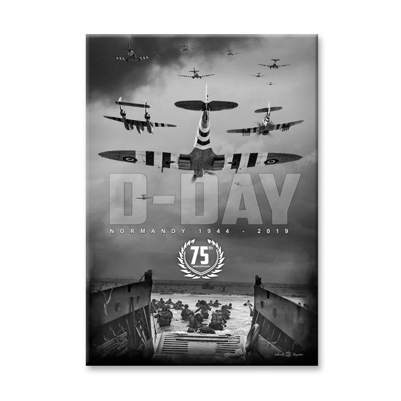 Product Photo of 28438 - D-Day 75th Anniversary Juno Beach Canvas