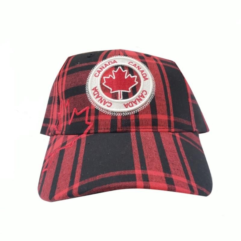 Product Photo of 28600 - Robin Ruth Buffalo Plaid Canada Hat