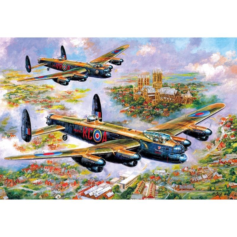 Product Photo of 28809 - Lancasters Over Lincoln Puzzle