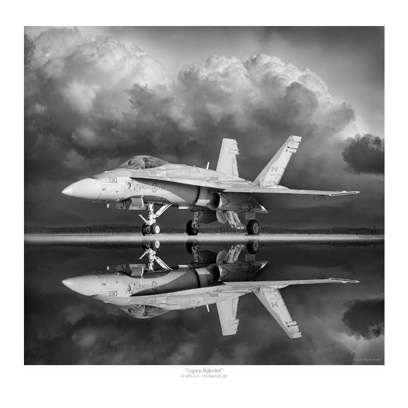 Product Photo of 28956 - Legacy Reflected, CF-18 Hornet Print