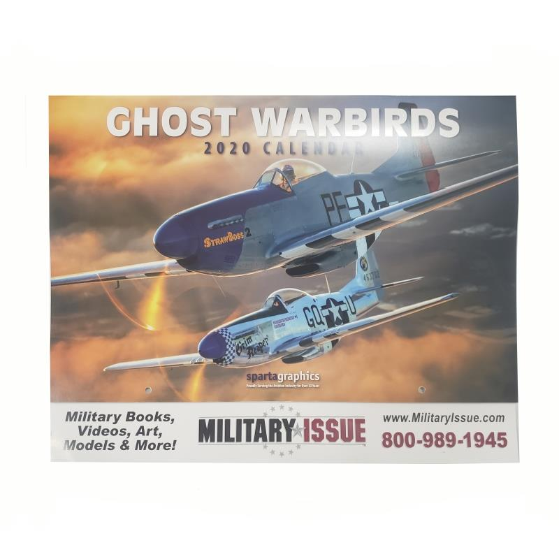 Ghost Warbirds 2020 Calendar