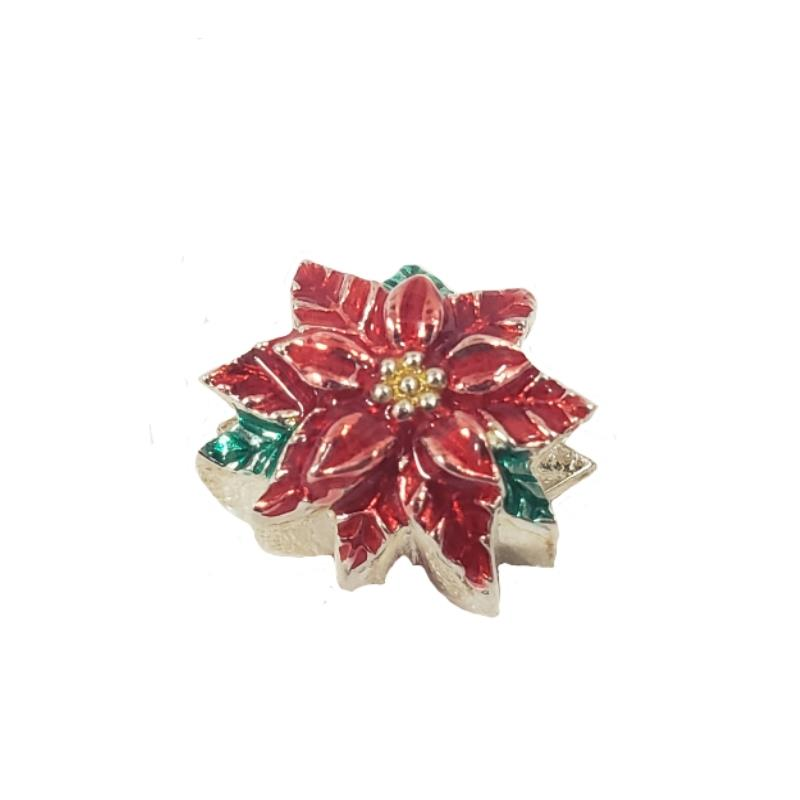 Product Photo of 29411 - Poinsettia Persona Charm
