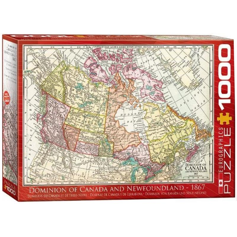 Product Photo of 29452 - Dominion of Canada and Newfoundland Puzzle