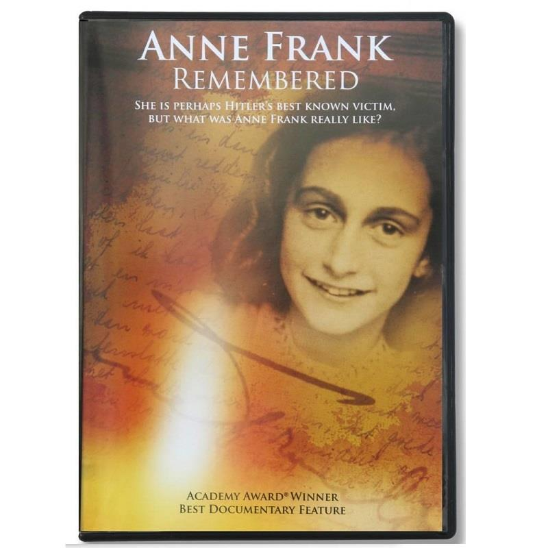 Product Photo of 29547 - Anne Frank Remembered DVD