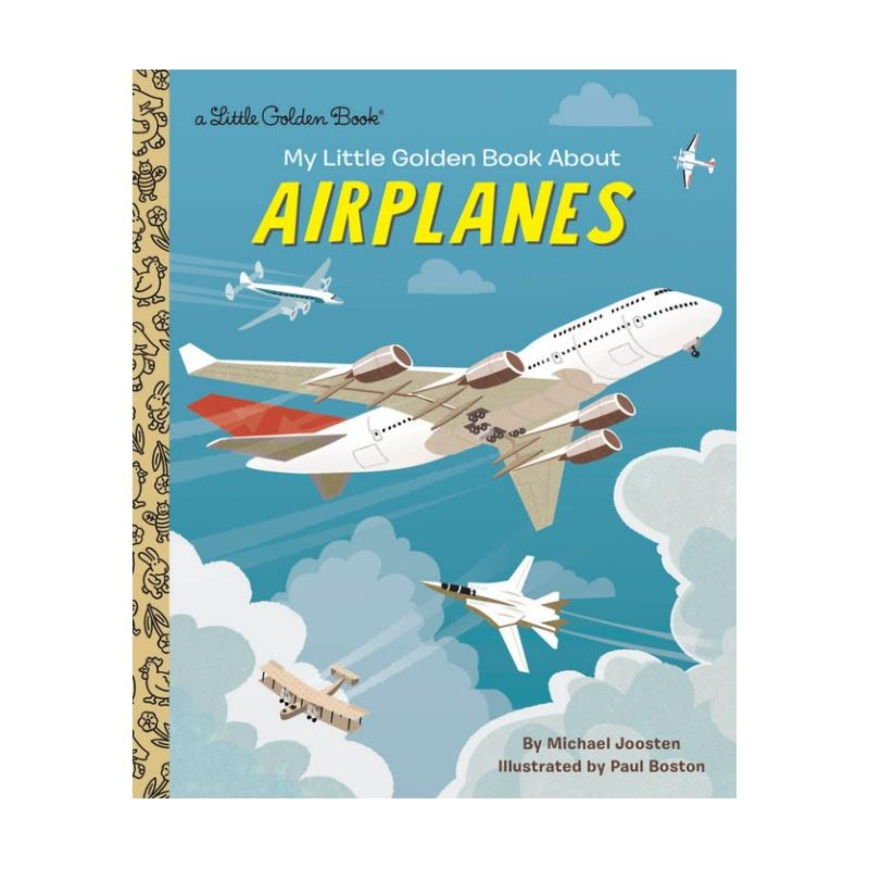 Product Photo of 29595 - Little Golden Book about Airplanes