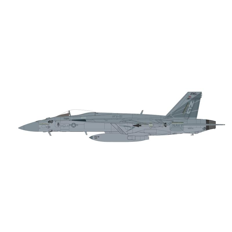 "Product Photo of 29604 - F/A 18E Super Hornet ""Vigilantes"", 2019, Diecast Model"