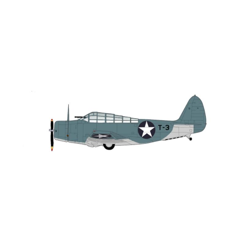Product Photo of 29615 - TBD-1 Devastator, Ensign Evans, USS Hornet, Diecast Model
