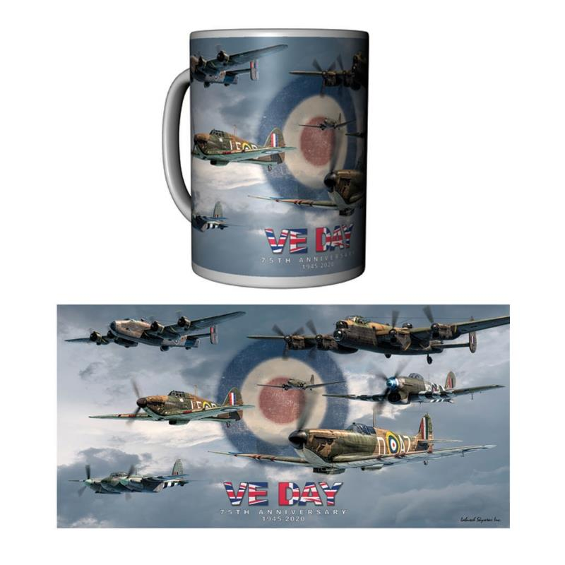 Product Photo of 29702 - VE Day 75th Anniversary Mug