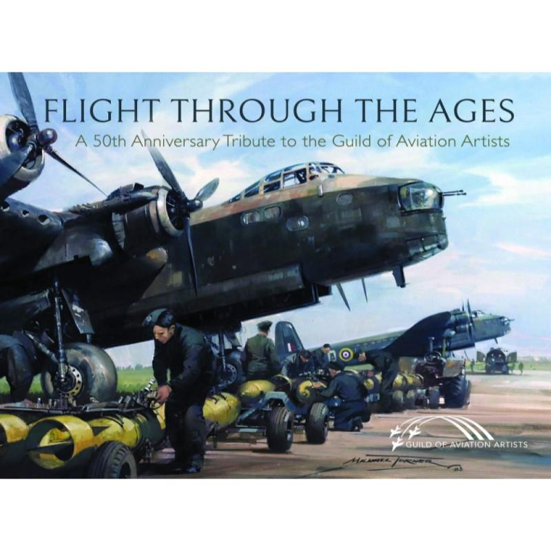 Product Photo of 29846 - Flight Through the Ages: A 50th Anniversary Tribute to the Guild of Aviation Artists