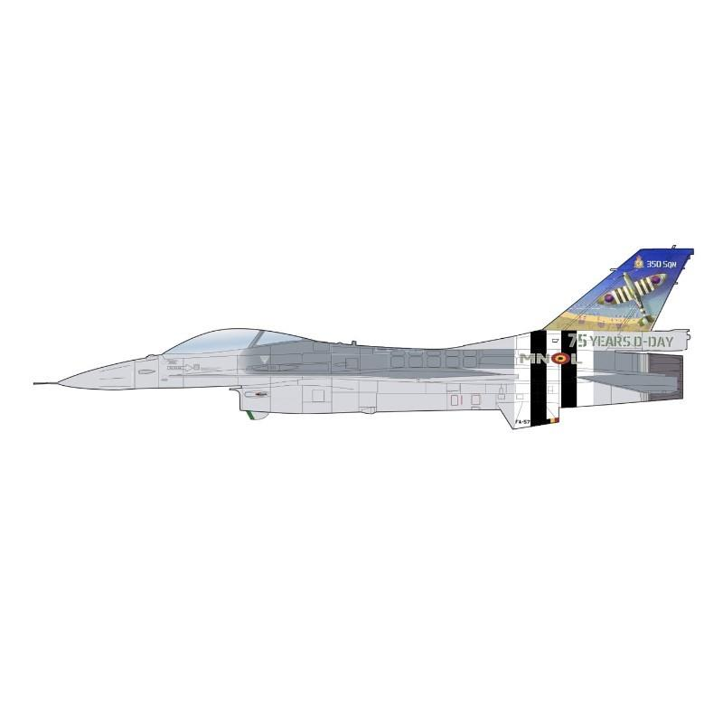 Product Photo of 29883 - F-16AM Fighting Falcon, FA-57, Belgian Air Force Diecast Model