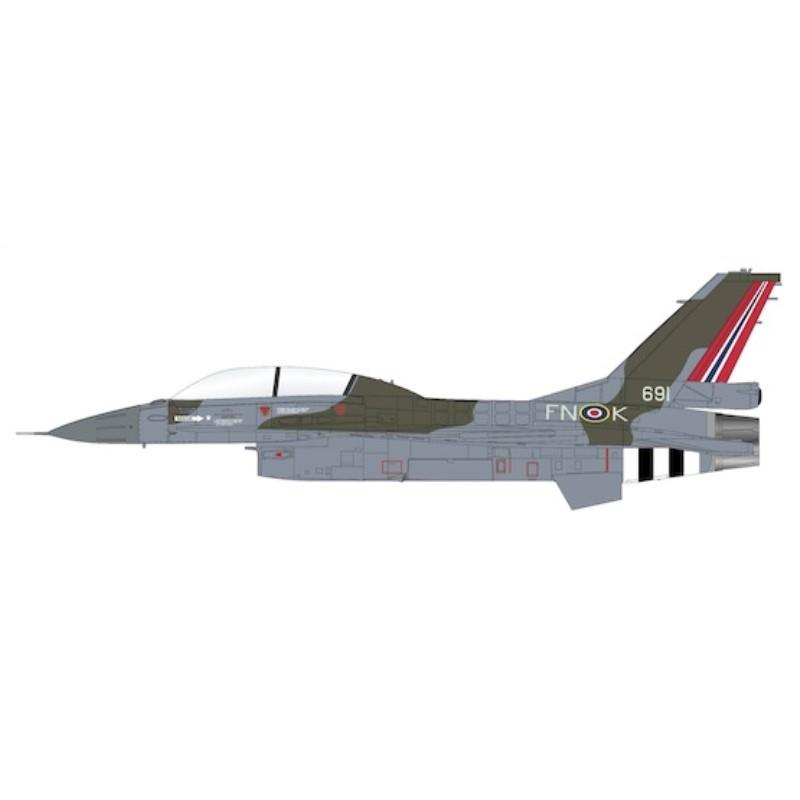 Product Photo of 29887 - F-16BM Fighting Falcon, Royal Norwegian Air Force Diecast Model