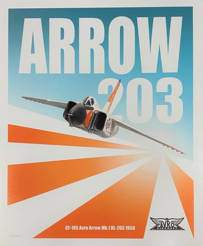 Product Photo of 29947 - CF-105 Arrow 203 Poster