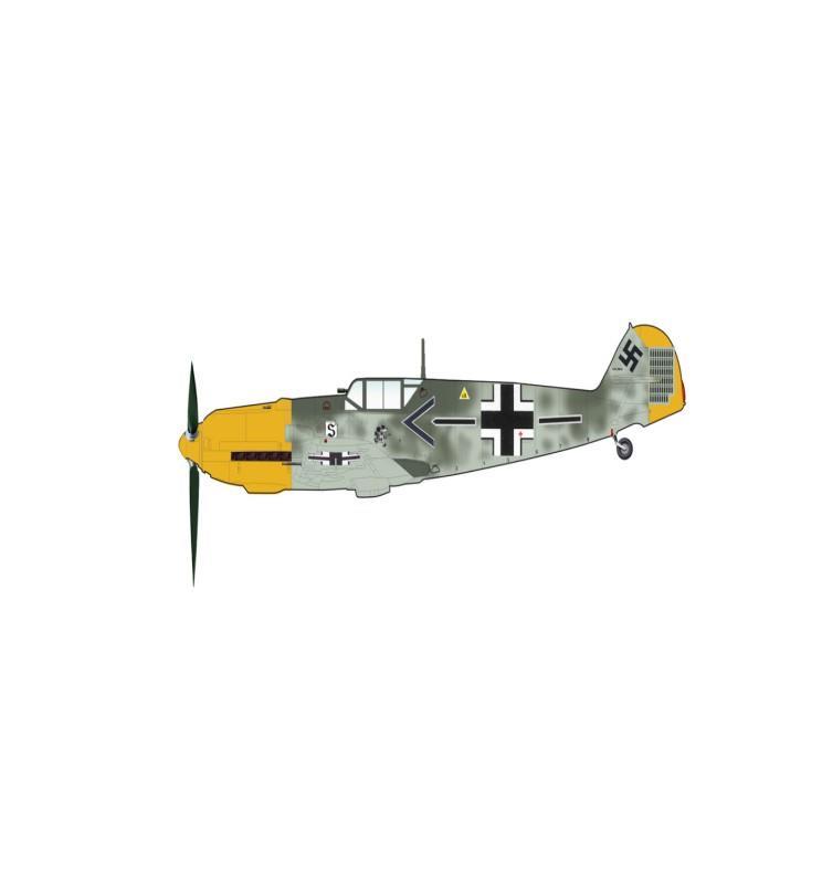 Product Photo of 29949 - Bf 109E-4, Adolf Galland Diecast Model