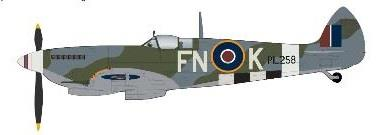 Product Photo of 29952 - Spitfire Mk. IX, 331 Norwegian Sqn, Diecast Model