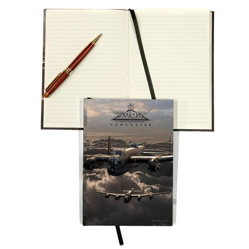 Product Photo of 29977 - Avro Lancaster Hard Cover Journal