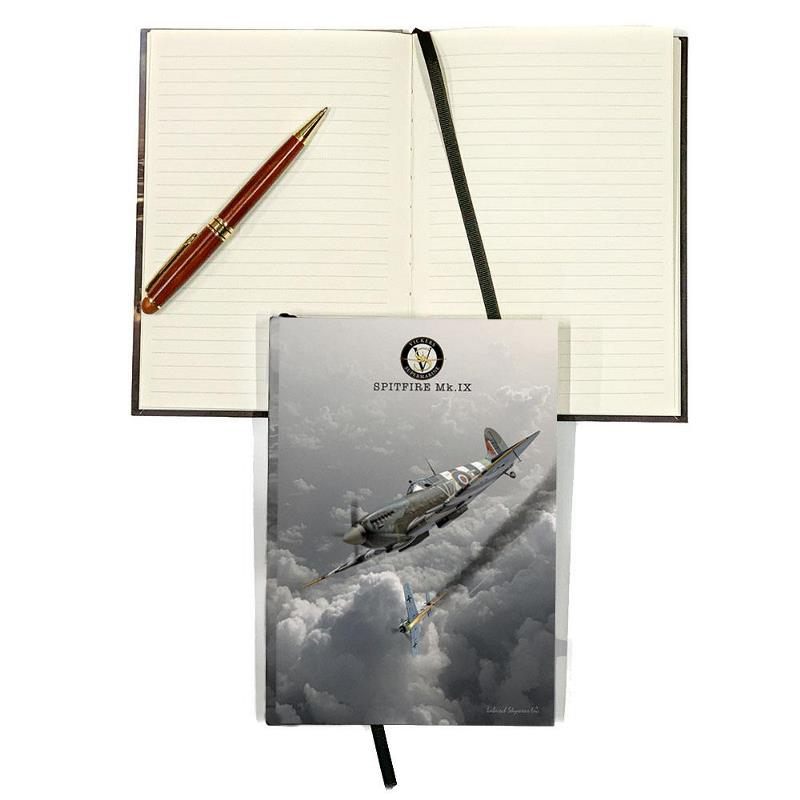 Product Photo of 29980 - Spitfire Hard Cover Journal