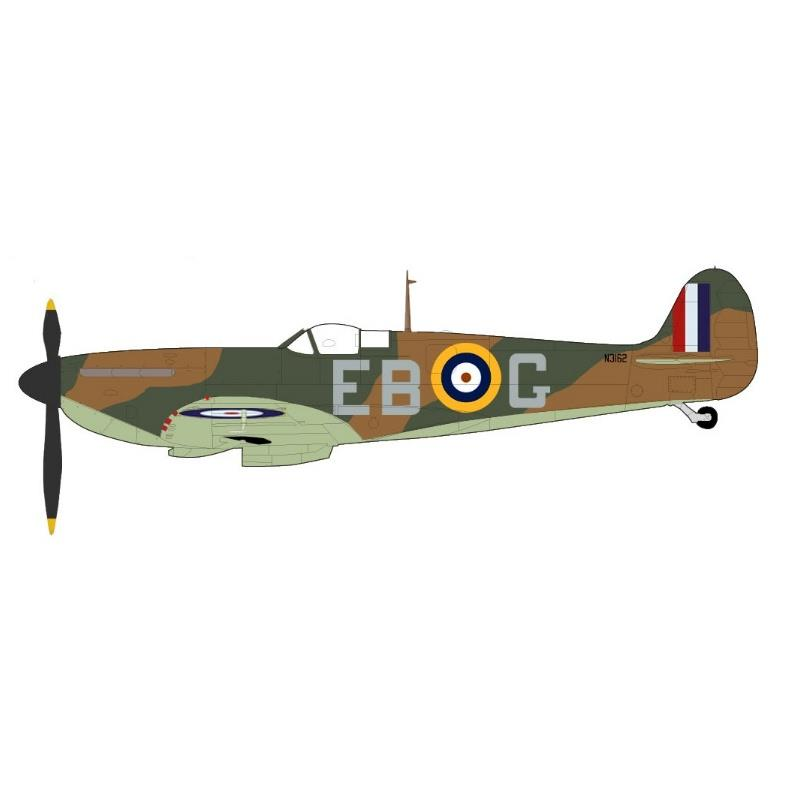 """Product Photo of 29996 - Spitfire Mk.I """"Battle of Britain"""", RAF Hornchurch, 1940, Diecast Model"""