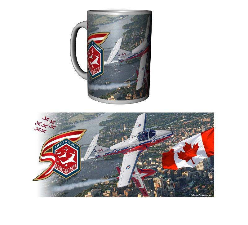 Product Photo of 30007 - Snowbirds 50th Anniversary Mug