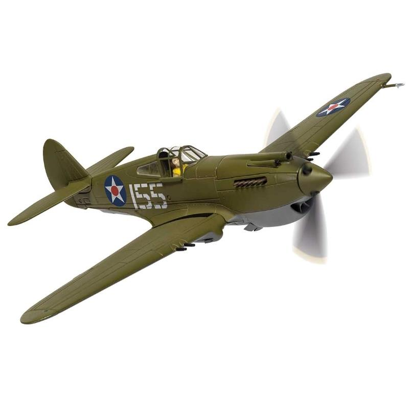 Product Photo of 30026 - Curtiss P-40B Warhawk, Kenneth Taylor, Pearl Harbor, 1941, Diecast Model