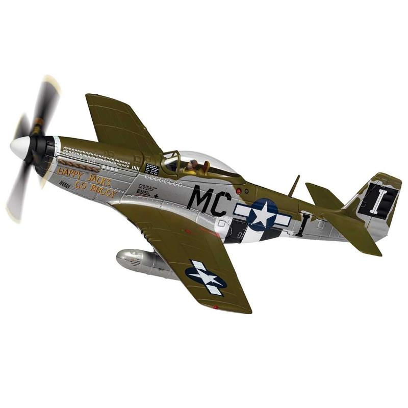 Product Photo of 30031 - P-51D Mustang, Happy Jacks Go Buggy, 1944, Diecast Model