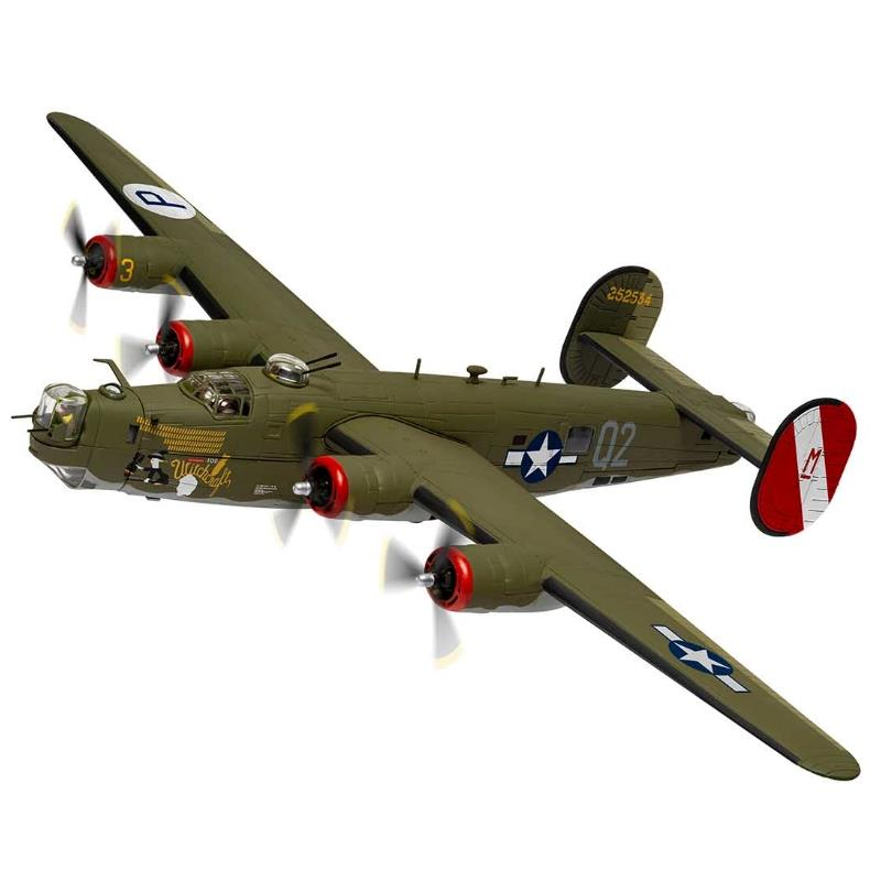 """Product Photo of 30034 - B-24H Liberator, """"Witchcraft"""", 467th BG, 1945, Diecast Model"""