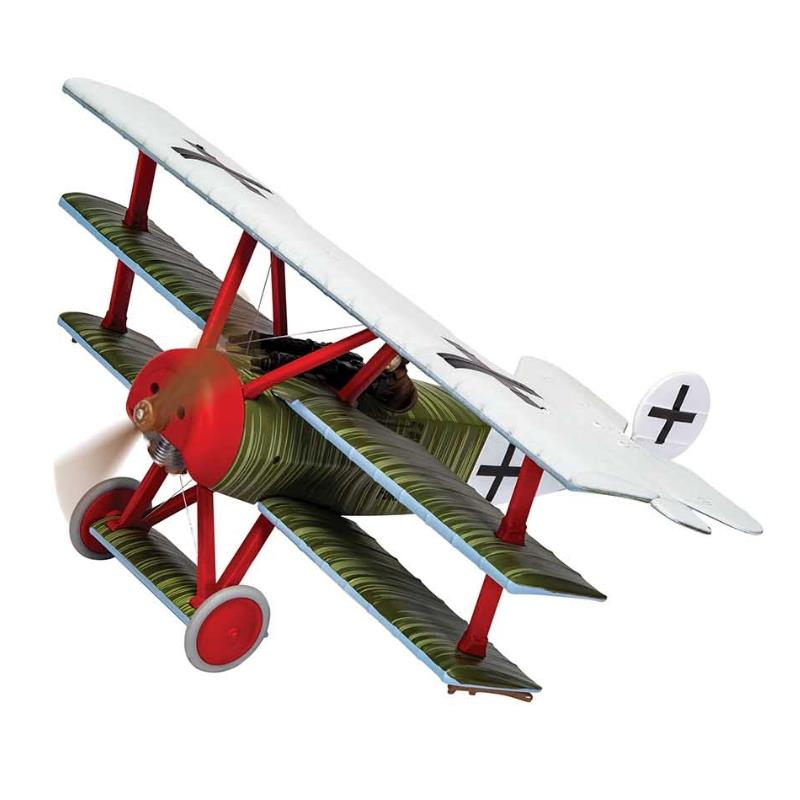 Product Photo of 30040 - Fokker DR.1, JG1 Flying Circus, Hans Weiss, Diecast Model