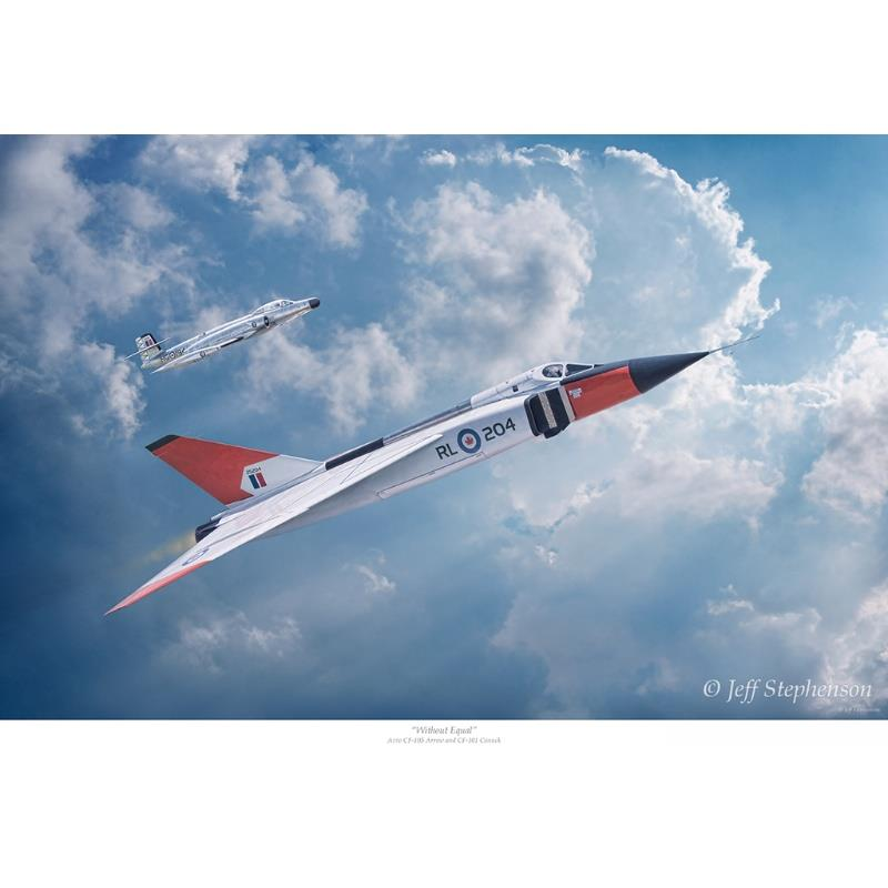 Product Photo of 30048 - Avro Arrow 'Without Equal'  Print